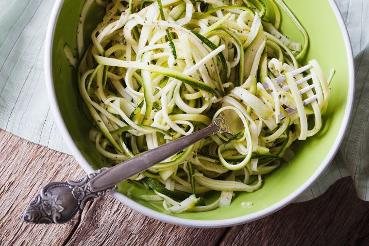 Zucchini Spaghetti aglio olio