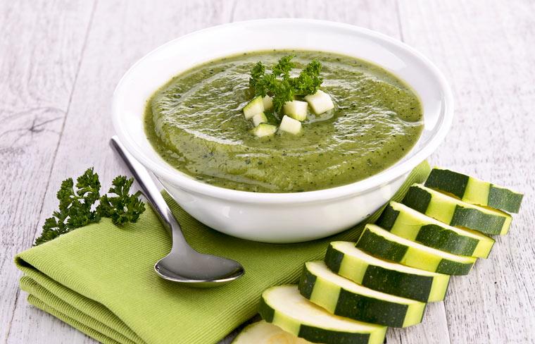 Zucchinisuppe – ein Rezept, einfach und schnell