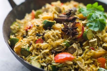 Basische Küche: Rezept für Gemüse Risotto