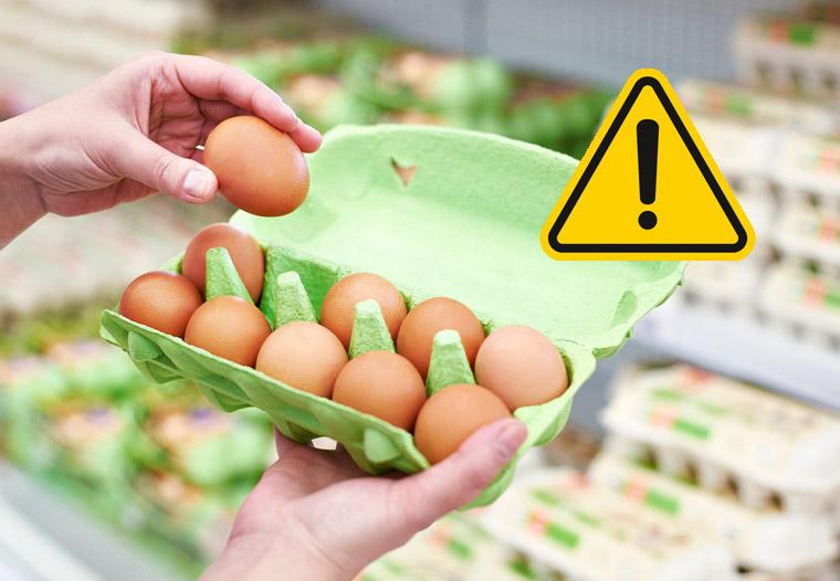 Belastete Eier auch in deutschen Supermärkten