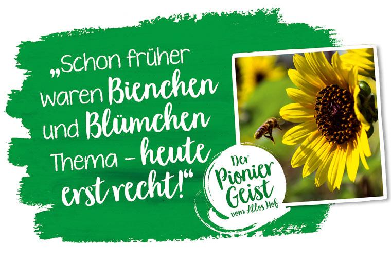 Schon früher waren Bienchen und Blümchen Thema - heute erst recht!