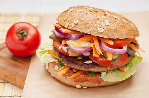 Bunte Burger Food Truck: Vegane Burger für Köln