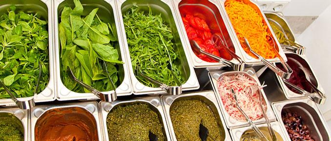Das Gemüse ist nur frisch und lecker © Bunte Burger