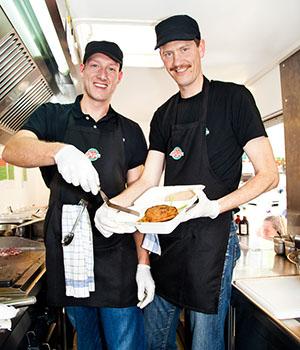 Dr. Mario Binder und Ulrich Glemnitz von © Bunte Burger