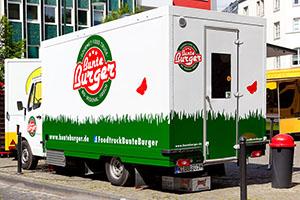 Der Food Truck so schön, wie sein Essen © Bunte Burger