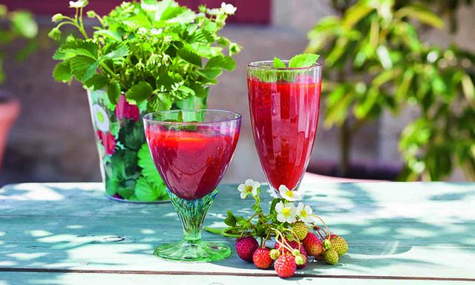 Erdbeeren Smoothie