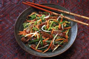 Mit leichter Ayurveda Küche Gesund genießen: Gemüse mit Kräutern
