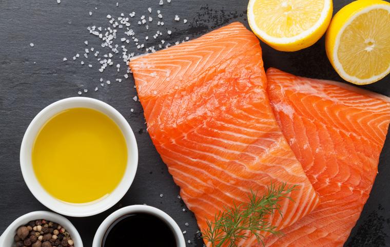 Lachs enthälz super viele Omega-3-Fettsäuren welche gut fürs Gehirn sind
