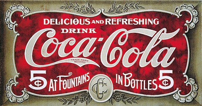 historischer Getränkecoupon von 1905