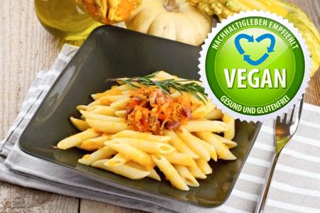 Rezept: Kürbis mit Pasta, ideal für den Herbst