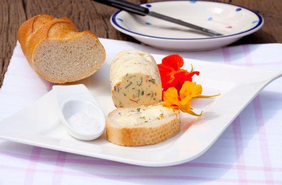 Kapuzinerkresse-Butter von der Arzneipflanze 2013