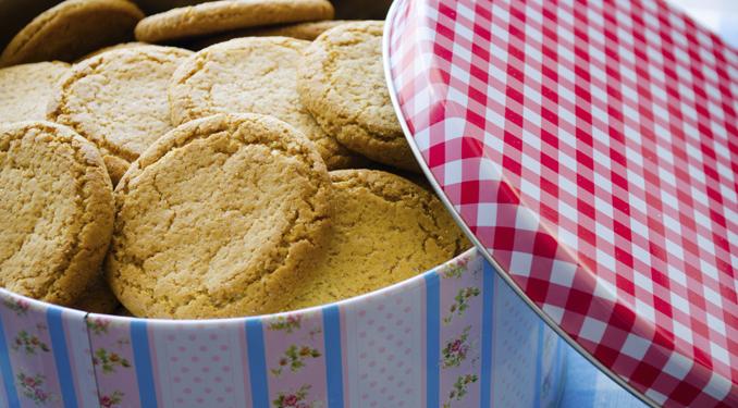 Kekse frisch halten