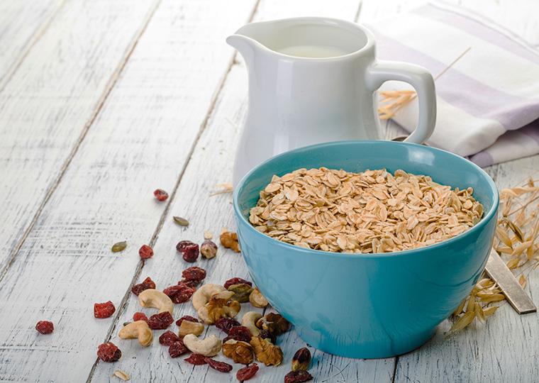 Hafermilch enthält wertvolle Ballaststoffe.
