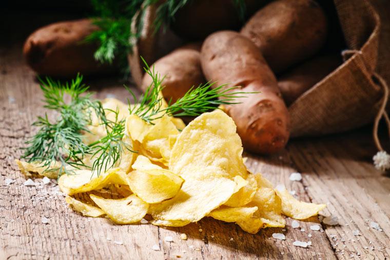 Rezeptidee: Mediterrane Kartoffelchips