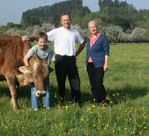 Öma Zurwies Familie Bek