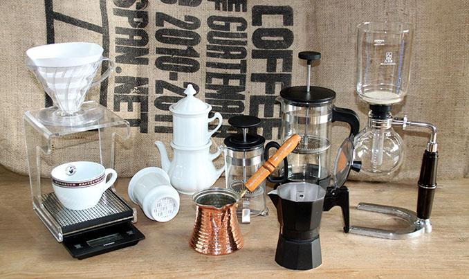 Kein Chemie-Baukasten, sondern wichtige Werkzeuge für das Verkosten von Kaffee © Murnauer Kaffeerösterei