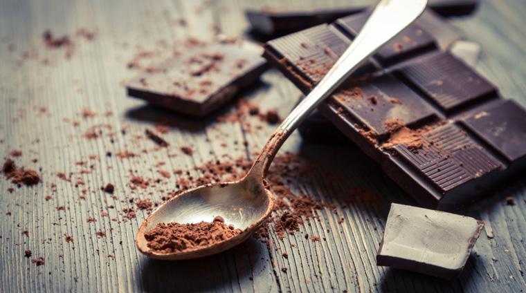Dunkle Schokolade hat einen höheren Kakaoanteil