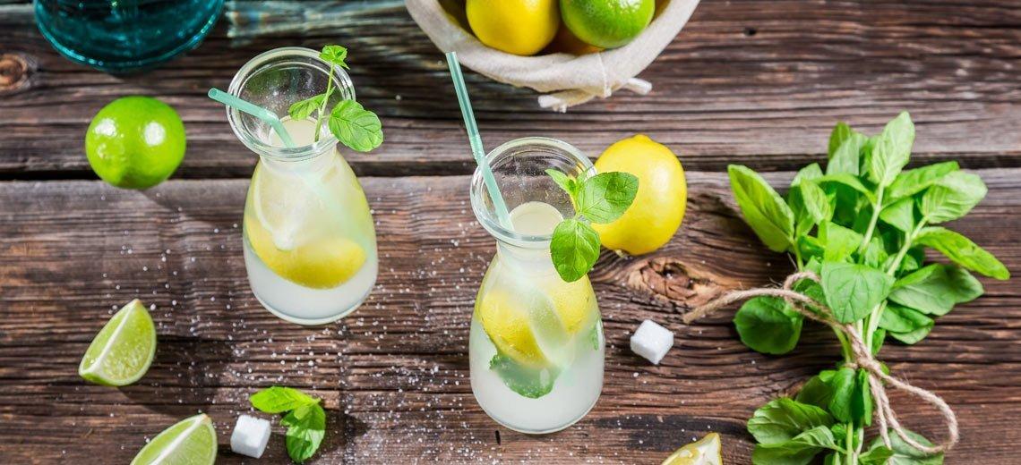 Erfrischt durch den Sommer mit selbstgemachten Limonaden