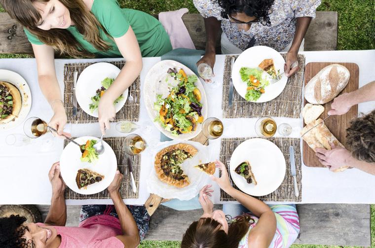 Vegan leben ist lecker und gesund