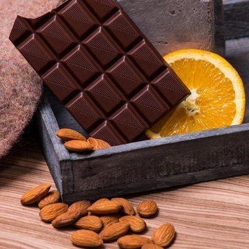 Vollmilch-Schokolade für Veganer