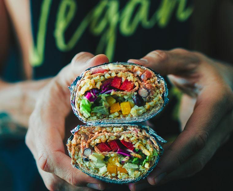 vegane Wraps