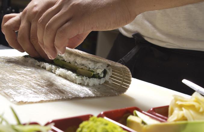 veganes sushi rezept