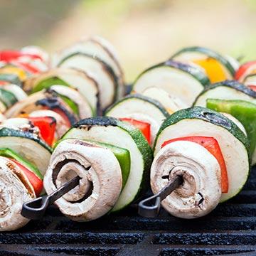 Köstlich grillen ohne Fleisch
