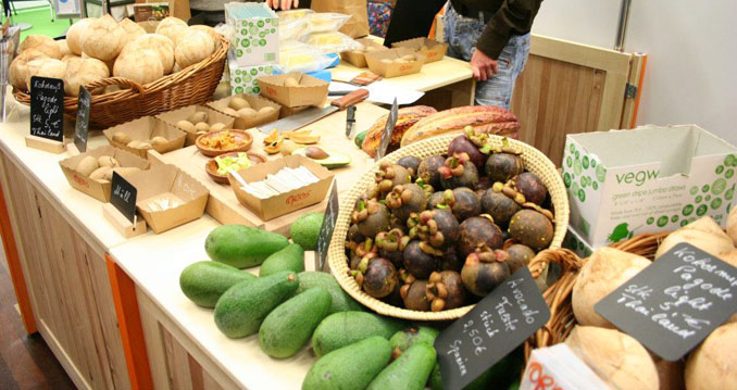 Nahrhaft und gesund: Gemüse auf der ©VeggieWorld