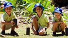 Eco Touristen-Programm auf den Seychellen
