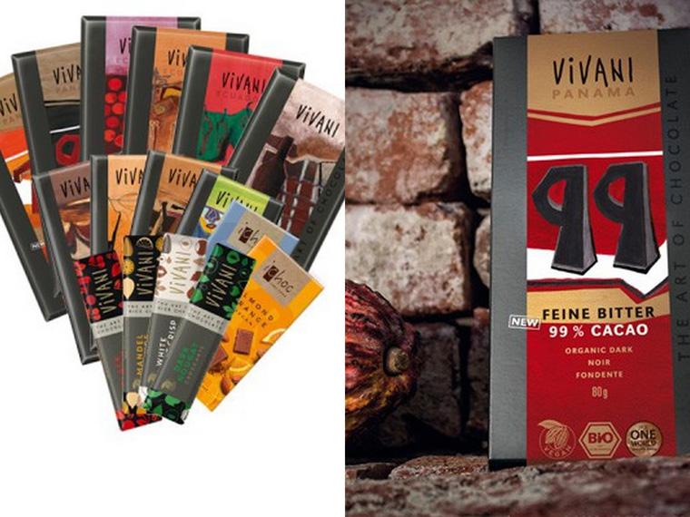 Weihnachtsgeschenk für Frauen - Vivani Schokolade