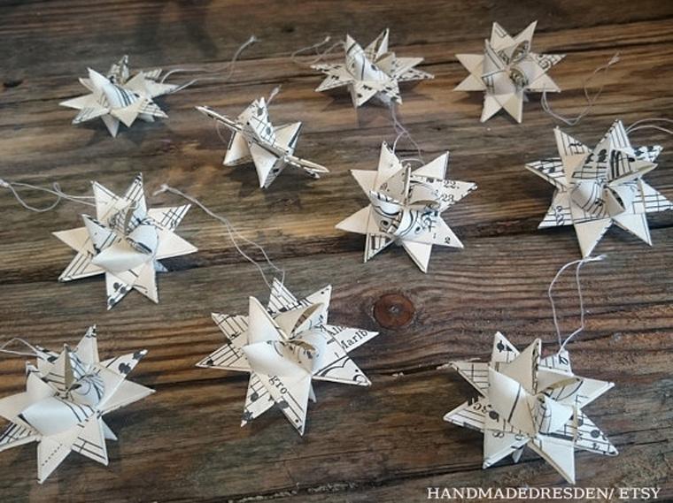 Umweltschonende weihnachten ko weihnachtsbaum recycling for Bastelanleitung baum aus papier