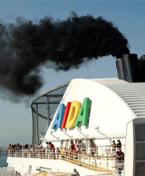 Hauptantriebstechnik bei Kreuzfahrtschiffen sind Dieselmotoren