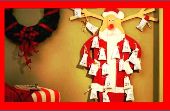 Selbst gemacht: Der Nikolaus als Adventskalender