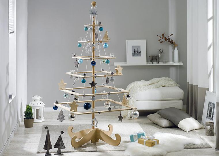 weihnachtsbaum zum selberbauen f r diy fans und bastler. Black Bedroom Furniture Sets. Home Design Ideas