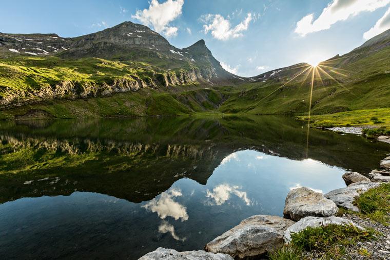 Wanderung zum Bachalpsee in Grindelwald