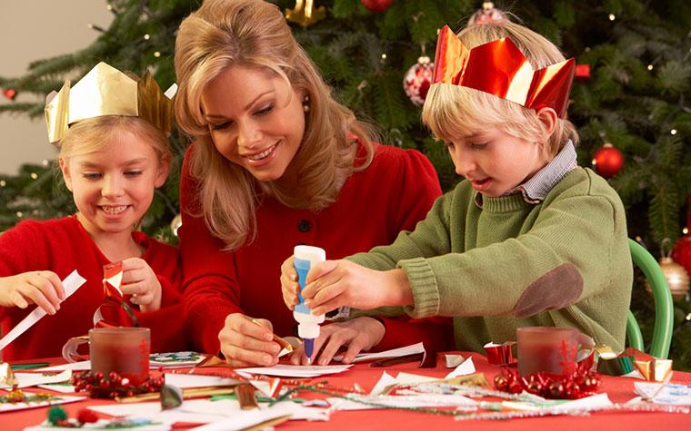 basteln mit kindern und filz f r weihnachten. Black Bedroom Furniture Sets. Home Design Ideas
