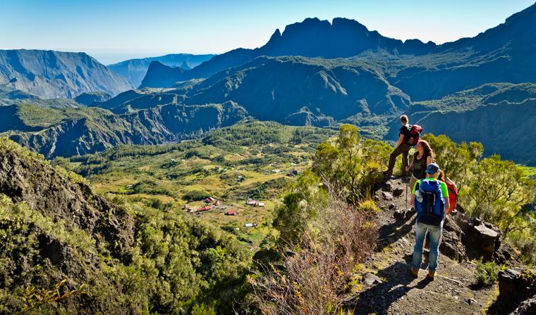 Eine nachhaltige Bergtour ©Paul Sutton