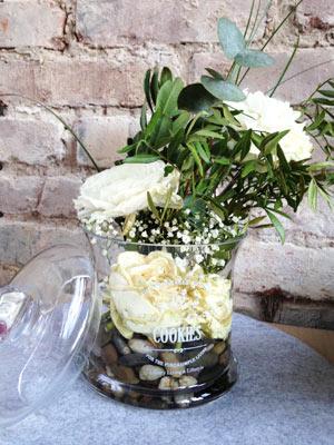 Recycling von Blumensträußen