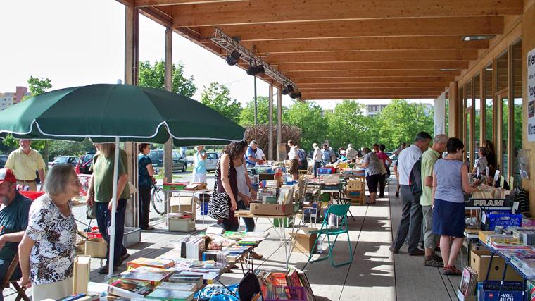 Bücher- und Musikflohmarkt Neuperlach