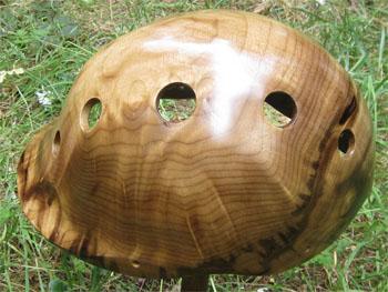 Atmungsaktiver Helm sorgt für schweißfreie Köpfe ©Coyle Treepieces