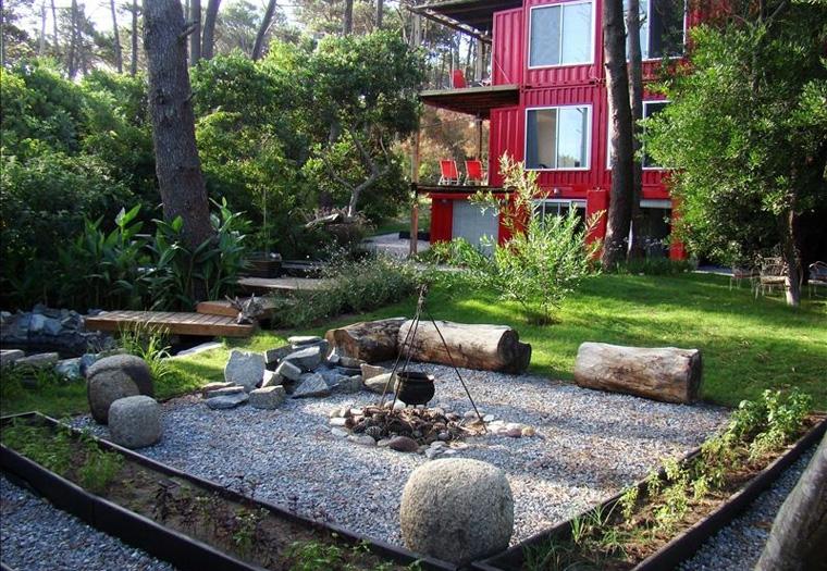 Auch in Uruguay kann man sich nachhaltig entspannen in den Eco apartments