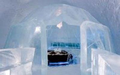 Eishotel Schweden Polarkreis