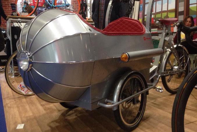 Das Elektro Fahrrad Boxer Rakete im laden