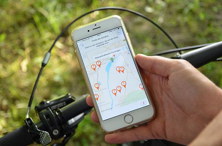 Neue App fuer Fahrradtouren durchs Donautal