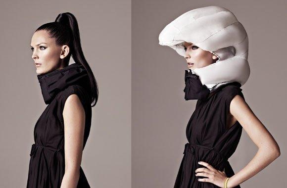 Alternative zum Helm: der Airbag für Radfahrer