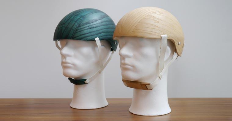 Die Forschungen laufen, damit umweltbewusste Radler schon bald einen der nachhaltigen Helme auf dem Kopf tragen können