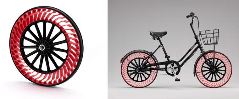 Nie wieder Reifen aufpumpen! Recyclebare Fahrradreifen ohne Luft