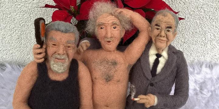 Puppen wie echt - Menschliche Filzpuppen