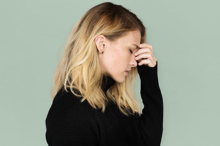 elektrosensible Menschen können z.B. an Kopfschmerzen leiden