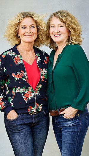 Susanne Fröhlich und Constanze Kleis